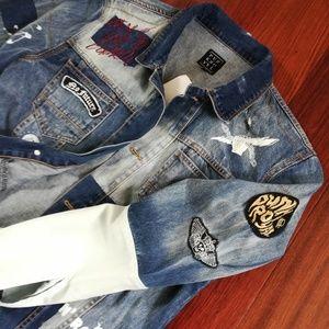 Punk Royal Jackets & Coats - Punk Royal Men's Denim Jacket Medium NWT